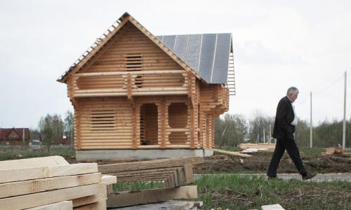 В России запустят программу льготной ипотеки на частные дома