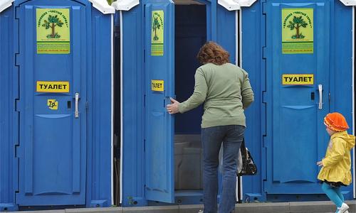 В Москве поставят туалеты на 5 миллиардов рублей