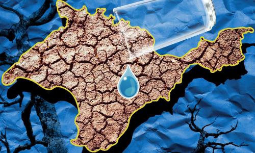 Украина намерена перекрыть подачу воды в Крым с помощью дамбы