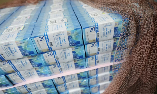 Госдолг России вырос на 5,4 триллиона рублей за год