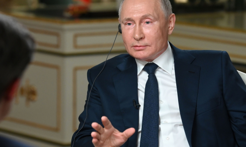 Путин обвинил американского журналиста в затыкании рта
