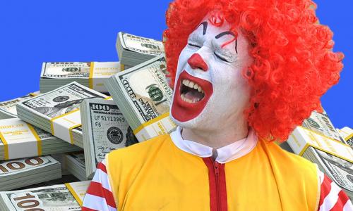 Зарплаты сотрудников «Макдоналдс» в США превысили доходы 97% россиян