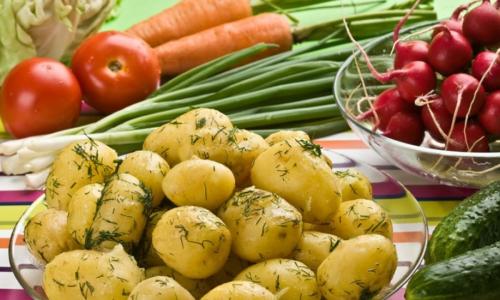 Как правильно варить молодую картошку в кастрюле