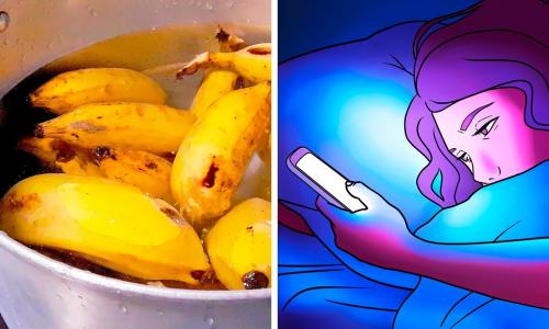 Что будет, если вскипятить банан перед сном?