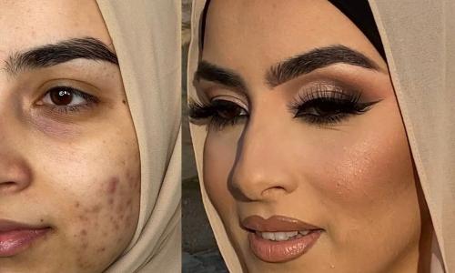Арабские невесты с макияжем и без — шокирующие фото